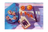 Oranges Giclee Print by Sara Hayward