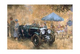 Garden Party with the Bentley Giclee Print by Peter Miller