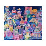 Guatemala Impressions Giclee Print by Hilary Simon