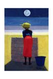 Moonlit Evening, 2001 Giclée-tryk af Tilly Willis