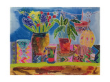 Artist's Sideboard, 2006 Giclee Print by Hilary Simon