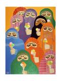 The Impossible Dream, 1988 Giclee-trykk av Laila Shawa