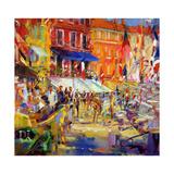 Port Promenade, Saint-Tropez Reproduction procédé giclée par Peter Graham