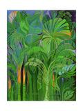 Rain Forest, Malaysia, 1990 Giclee Print by Laila Shawa