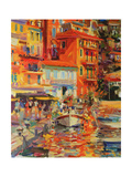 Reflections, Villefranche, 2002 Giclee Print by Peter Graham