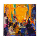 London Silver Service Giclee Print by Peter Graham