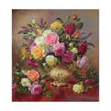 Roses from a Victorian Garden Reproduction procédé giclée par Albert Williams
