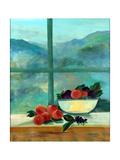 Interior with Window and Fruits Lámina giclée por Marisa Leon