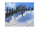 Spring Skiers, Verbier, 2010 Giclee Print by Andrew Macara