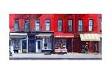 Four Shops on 11th Ave, 2003 Reproduction procédé giclée par Anthony Butera