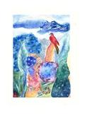 Paradise Bird, 2010 Reproduction procédé giclée par Louise Belanger