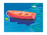 Gull and Boat, 2009 Reproduction procédé giclée par Sarah Gillard