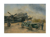 A Lancaster and a Bentley, 2000 Giclee Print by Peter Miller