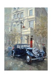 Phantom II into Queens Gate Mews Giclee Print by Peter Miller