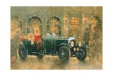Christmas at Fortnum and Masons Giclee Print by Peter Miller
