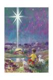 The Star of Bethlehem Reproduction procédé giclée par Stanley Cooke