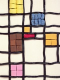 Allsorts 1 (After Mondrian) 2003 Photographic Print by Norman Hollands