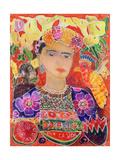 Respects to Frida Kahlo, 2002 Giclée-Druck von Hilary Simon