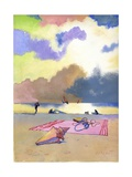 Summer Evening, 1980s Giclee Print by George Adamson