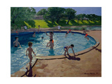 Swimming Pool, 1999 Giclee Print by Andrew Macara