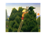 Polly and the Privet Bird Giclee Print by Reg Cartwright