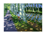 Canal Du Midi, France Giclee Print by Andrew Macara
