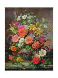 September Flowers, Symbols of Hope and Joy Reproduction procédé giclée par Albert Williams