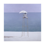 Beach Guard, 2004 Giclee Print by Lincoln Seligman