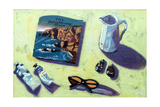 Travel Brochure Giclee Print by Sara Hayward
