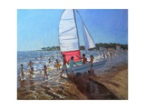 Sailboat, Palais Sur Mer, 2008 Giclee Print by Andrew Macara