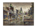 Streetlights Giclee Print by LaVere Hutchings