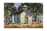 Country Church Giclee Print by LaVere Hutchings