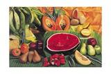 Still Life with Watermelon, 2005 Giclée-tryk af Pedro Diego Alvarado