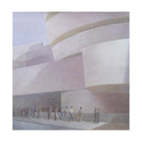 Guggenheim Museum, New York, 2004 Giclee Print by Lincoln Seligman