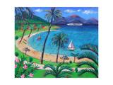 Caribbean Giclee Print by Sara Hayward