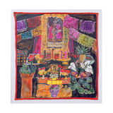 Frida Kahlo (1910-54) Shrine, 2005 Giclee Print by Hilary Simon