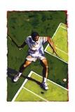 Tennis Player, 2009 Giclee Print by Sara Hayward