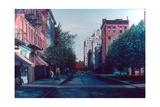 Bleeker Street Reproduction procédé giclée par Anthony Butera