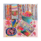 Artist's Paintbox, 2006 Giclee Print by Hilary Simon