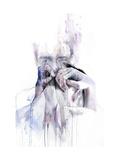 Gestures Kunstdrucke von Agnes Cecile
