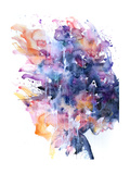 In A Single Moment All Her Greatness Collapsed Poster von Agnes Cecile