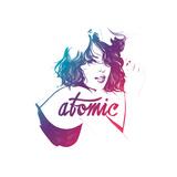 Atomic Poster av Manuel Rebollo