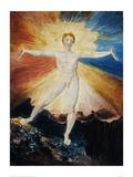 Albion Rose Reproduction procédé giclée par William Blake