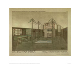 Design for a Nursery Giclee Print by Charles Rennie Mackintosh