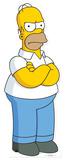Homer Simpson Lifesize Standup Silhouettes découpées en carton