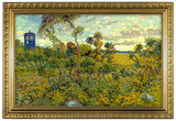 Vincent Van Gogh Tardis at Montmajour Poster Photo