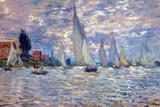 Claude Monet Les Barques Poster por Claude Monet