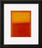 Orange and Yellow Pôsters por Mark Rothko