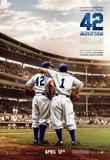 42 (Chadwick Boseman, T.R. Knight, Harrison Ford) Movie Poster Lámina
