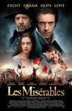 Les Miserables (Hugh Jackman, Russell Crow, Anne Hathaway) Movie Poster マスタープリント